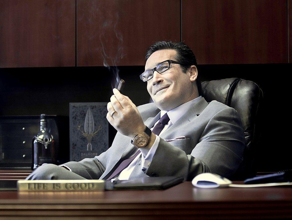 alan rubin alec bradley cigar bureau desk life is good