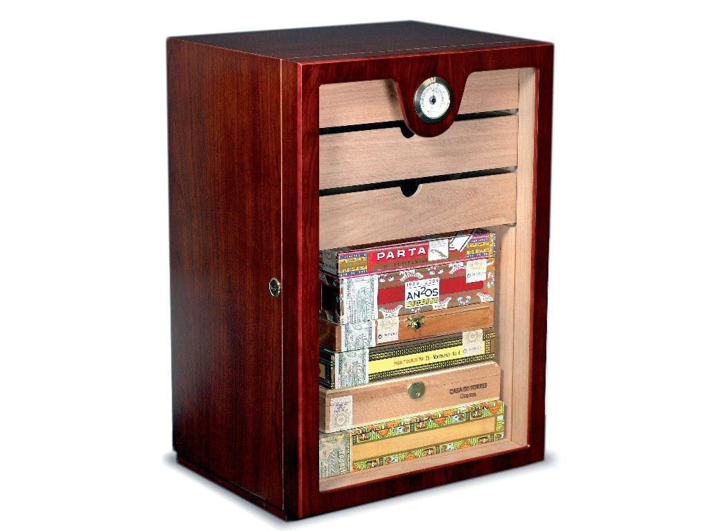 Cabinet Humidor Alternative Solution Removed Drawers Lower Part Cigar Bo