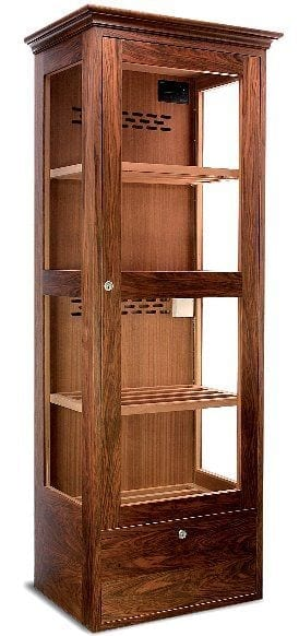 century cabinet humidor electronically controlled humidification double back wall