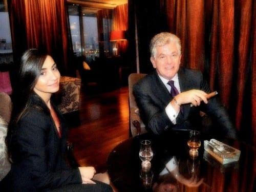 georg weinlaender austrian director phoenicia beirut with colleague lounge