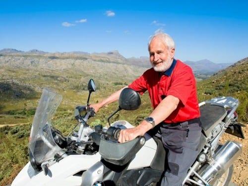 heinrich villiger africa cigar bike tour 2012 heinrich villiger on motorcycle bmw 1200 gs