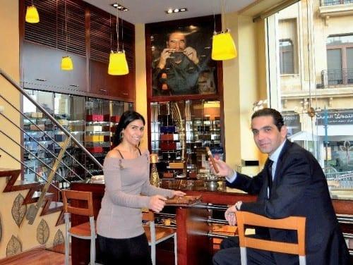 libanon beirut downtown casa del habano sandy awad ahmad el mawla aiport