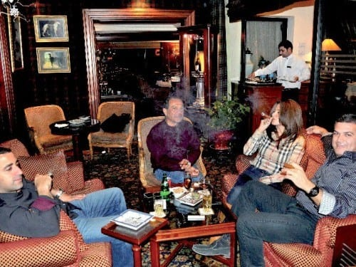 libanon beirut sydney club hotel vendome smoker lounge