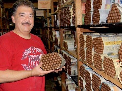 nick perdomo portrait cigars inventory aging room