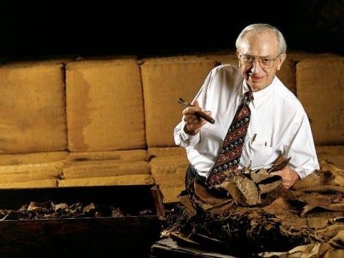 stanford jc newman portrait cigar tobacco bale leaves