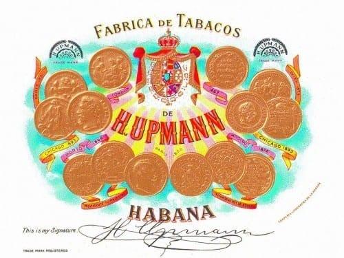 h upmann fabrica de tabacos de h upmann habana old logo trade mark