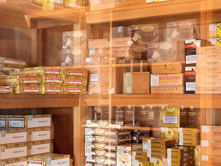 traditional cigar store many brands unlimited production
