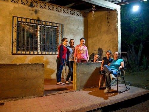 francisca del rosario gonzalez aguirre family evening veranda