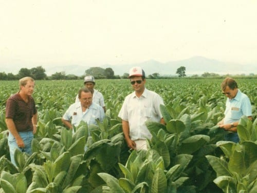 nestor plasencia at jamastran valley tobacco farm