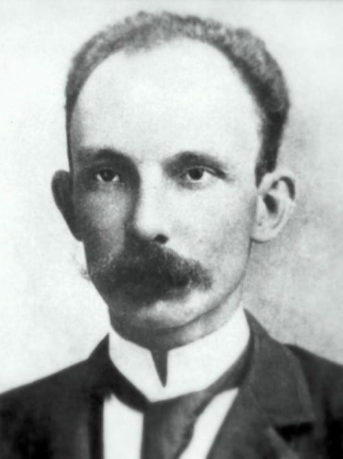 jose marti portrait bw cuban poet freedom fighter national hero