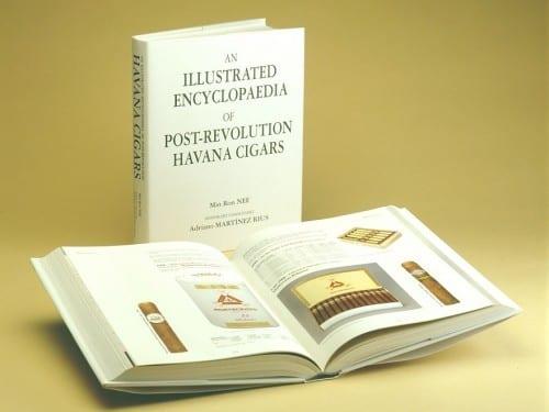 min ron nee illustrated encyclopaedia post revolution havana cigars open book cover