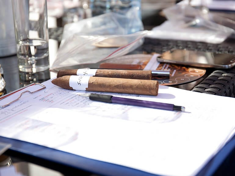 Cigar Journal Blind Tasting 2016