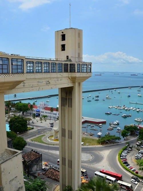 brazil reconcavo salvador bahia elevador lacera