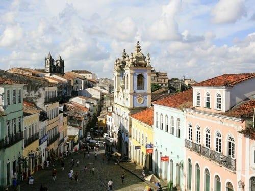 brazil reconcavo salvador bahia pelourinho quarter