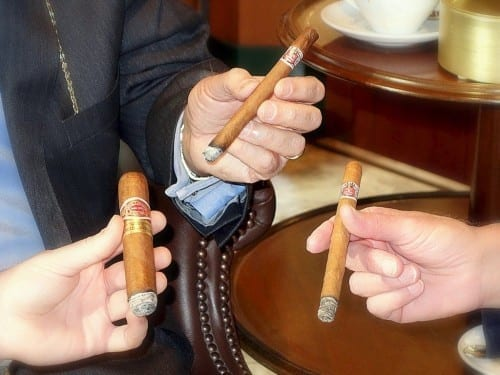 chase edward eddie sahakian davidoff of london ring gauges