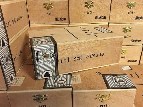 dion giolito illusione cigar journal eccj 20th anniversary cigar boxes closed