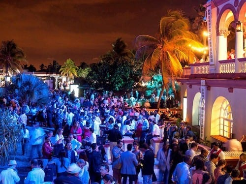 festival del habano evening outdoors gala night