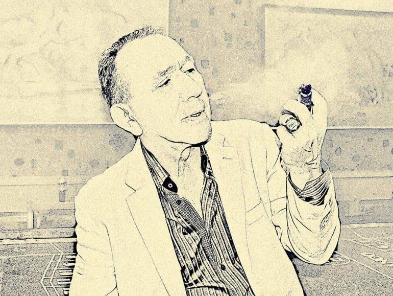 roman symonowicz portrait cigar poker