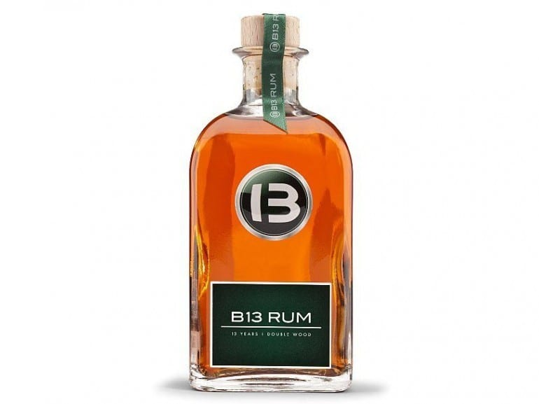 bentley b13 rum bottle smoky spirits