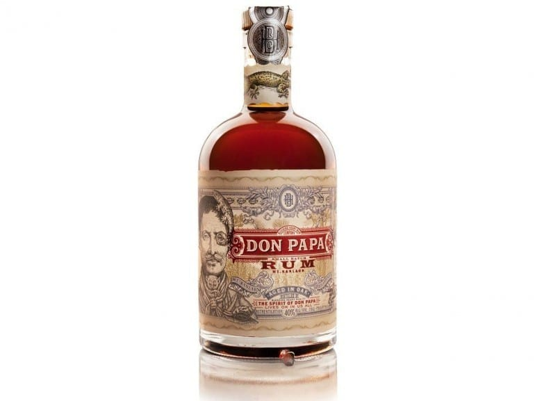 don papa rum bottle smoky spirits