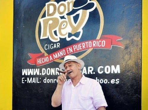 don rey patricio pena logo wall