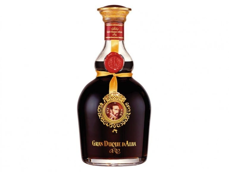 gran duque d'alba oro bottle smoky spirits