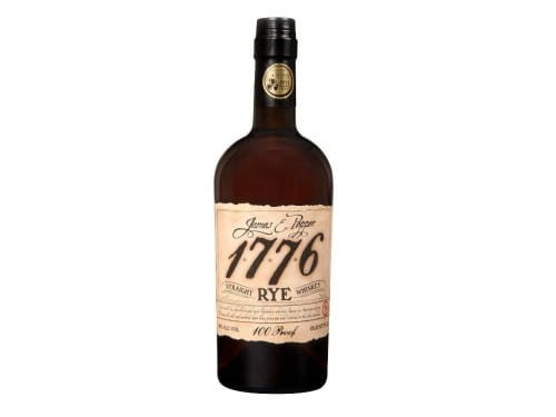 james e pepper 1776 rye bottle smoky spirits