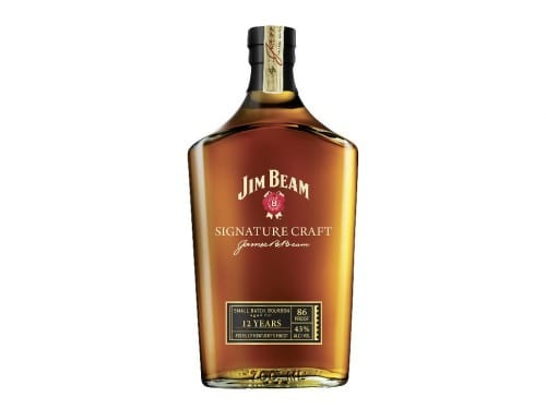 jim beam signature craft bottle smoky spirits