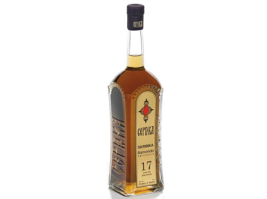prunum serbica ramonda bottle smoky spirits