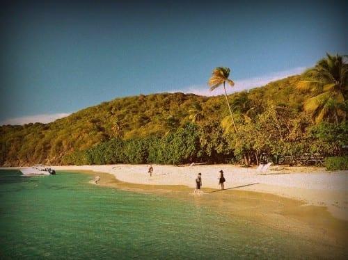 puerto rico beach palomino island