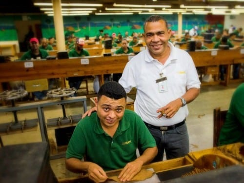 ramon emilio cruz inspector at work cigar factory davidoff villa gonzalez dominican republic