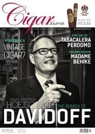 Cigar Journal Magazine Cover Spring Edition 2015 Davidoff Cigars
