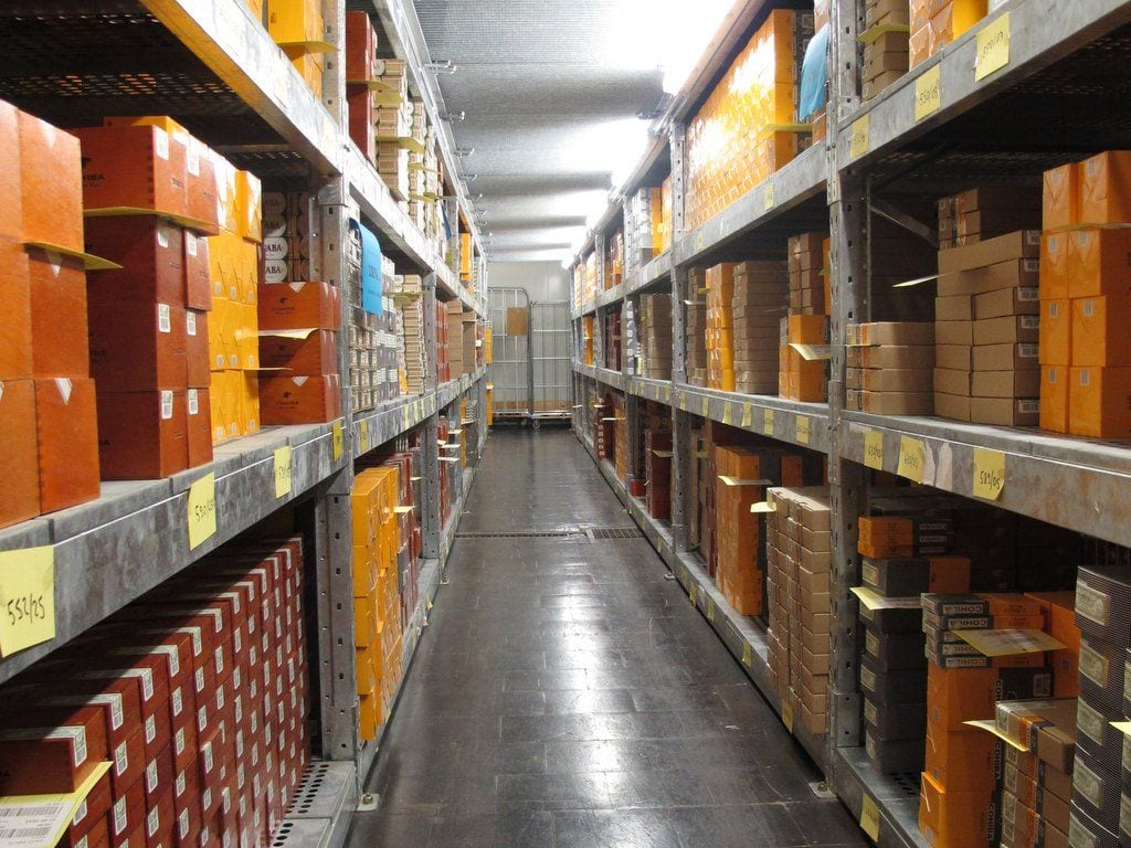 Habanos Storage Room 5th Avenue