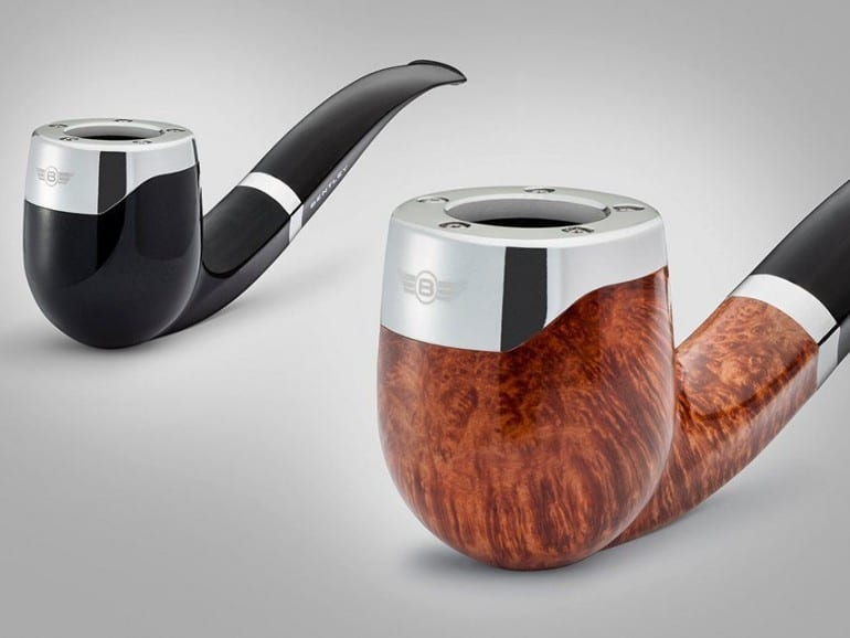 bentley tobacco pipes redesign 2 pipes brown black