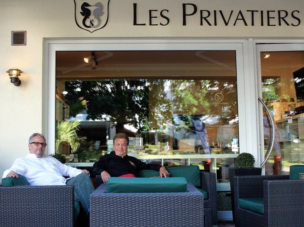 les privatiers lounge outdoor