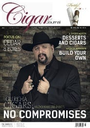 Cigar Journal Magazine Cover Summer 2015 Edition Gurkha Cigars