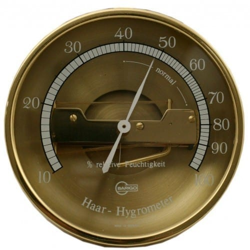 echthaar hair hygrometer