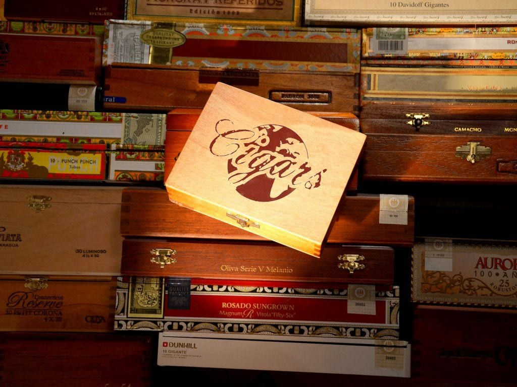 global players cigar world cigar boxes story opener