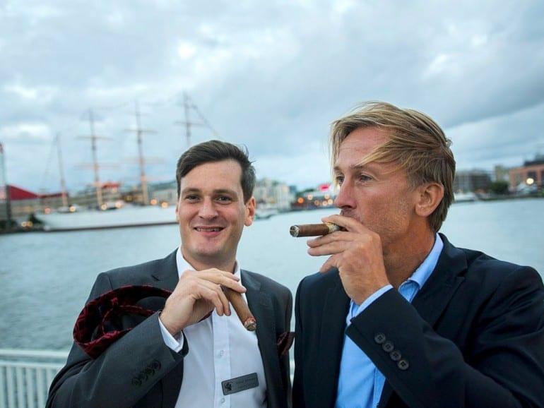 goeteborg cigar festival 2014 johansson aedel smak outdoor portrait harbour
