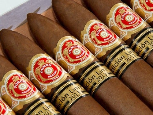 punch serie d oro no 2 limited edition 2013 box