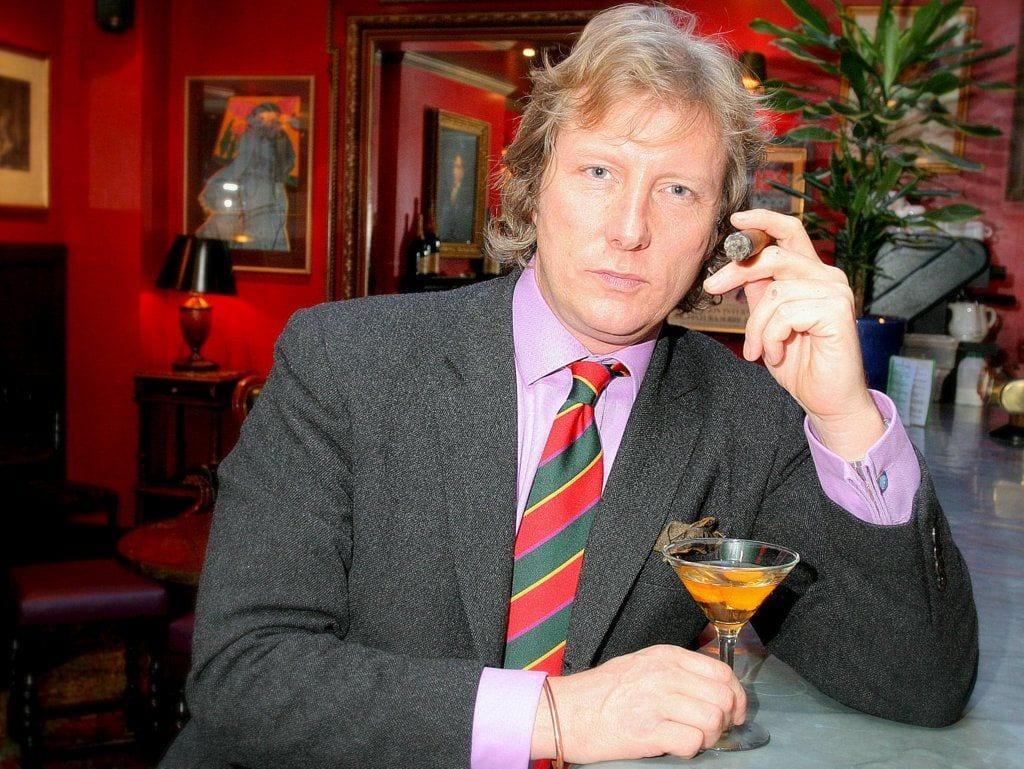 ranald macdonald portrait bar smoking lounge boisdale