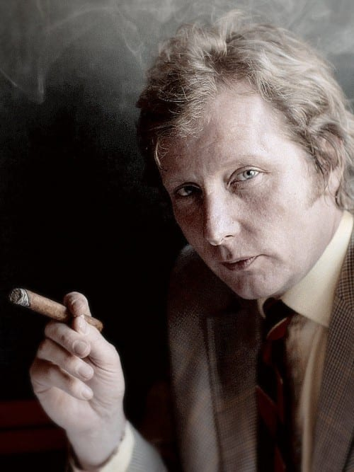 ranald macdonald portrait smoking boisdale