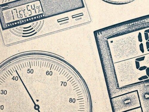 various hygrometers