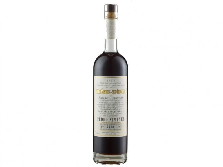 ximenez spinola very old pedro ximenez bottle