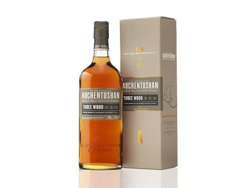 auchentoshan three wood bottle smoky spirits