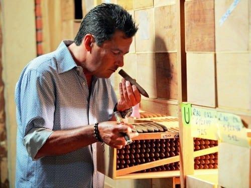 cao cigars master blender rick rodriguez cigars humidor aging
