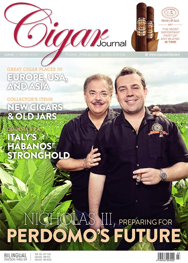 Cigar Journal Autumn Edition 2018 Nick Perdomo Junior