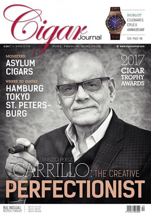Cigar Journal Cover: Ernesto Perez-Carrillo