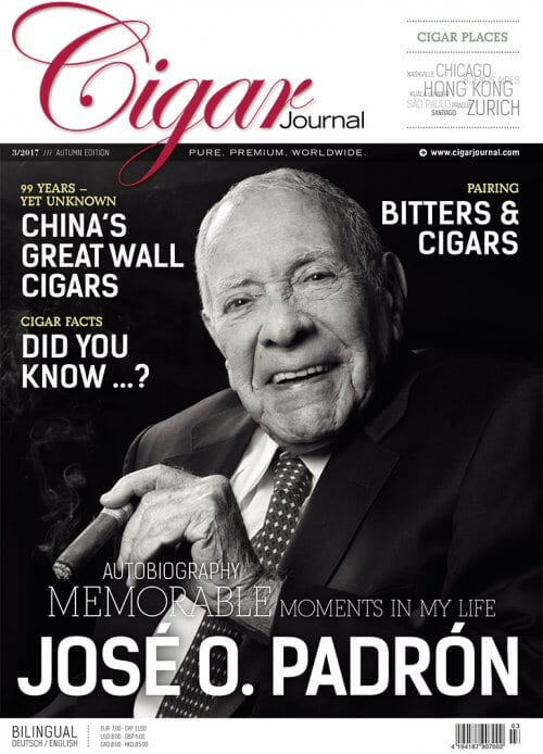 Cigar Journal Autumn Edition 2017 José O. Padrón