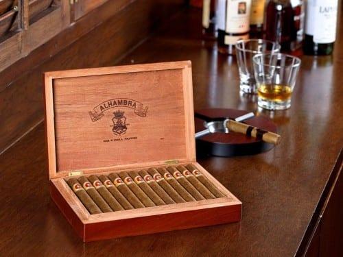 alhambra cigar box manila philippines tabacalera incorporada